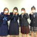 毎年恒例!卒業生女子達の制服お披露目会(^^)